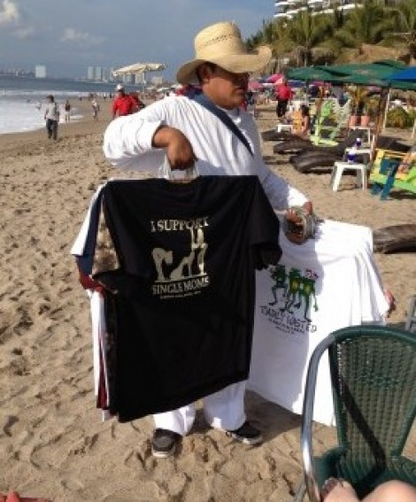 beach t-shirts in mexico