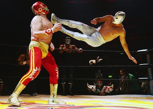 high kick 684628n Mexican Wrestling   Lucha Libre