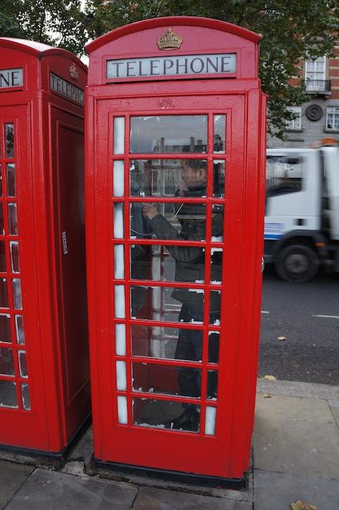 English Telephone booth
