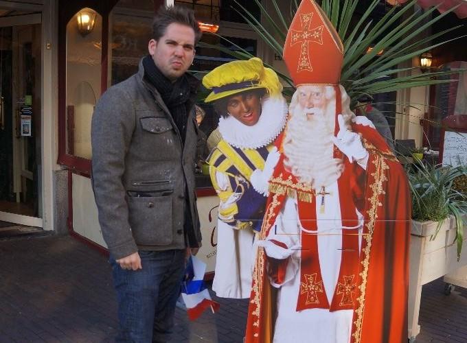 Sinterklaas in Holland:  Where is American Black Pete?