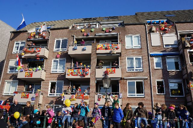 sinterklaas crowd