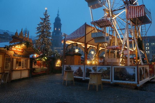 dresden ferris wheel The Best Christmas Markets in Germany