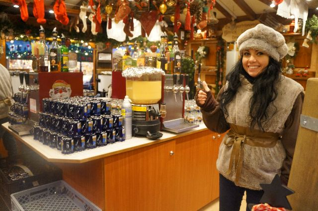 hot gluhwein girl The Best Christmas Markets in Germany