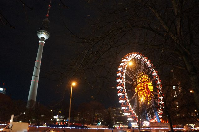night berlin market The Best Christmas Markets in Germany
