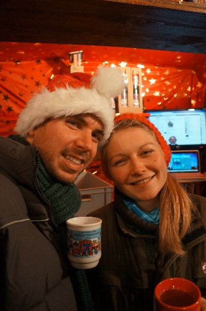 gluhwein stand in germany