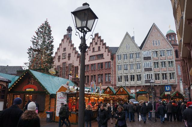 Frankfurt Germany Christmas market