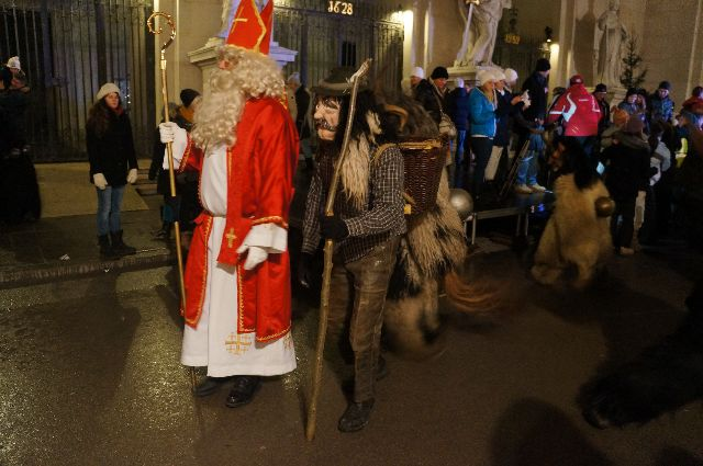 Saint nic Christmas in Austria: How Naughty Children Should Be Dealt With   The Krampus