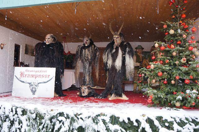 krampus in Hellbrunn