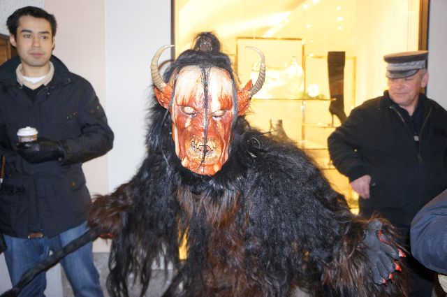 upclose krampus Christmas in Austria: How Naughty Children Should Be Dealt With   The Krampus