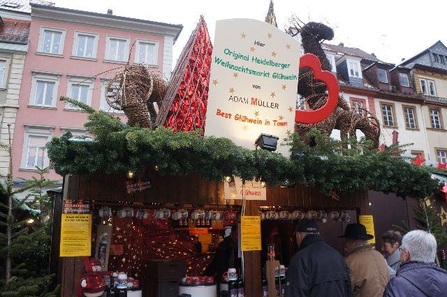 best Gluhwein in Heidelberg Germany