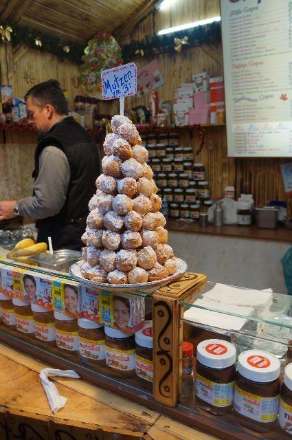 Christmas market food