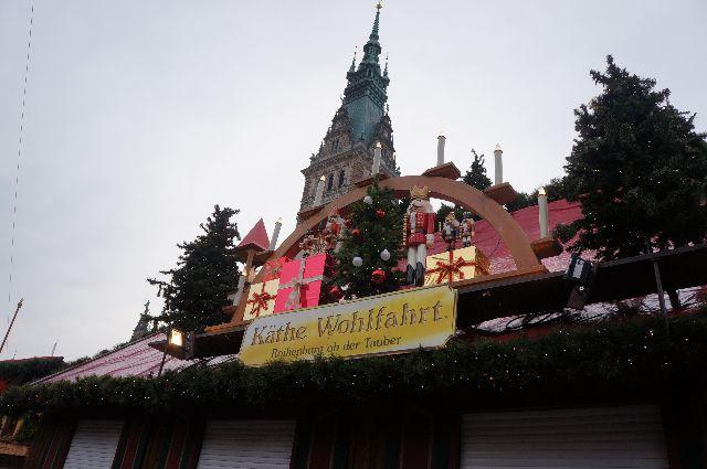 Christmas market in Hamburg