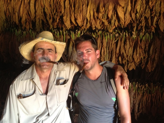 Cuban tobacco farmer