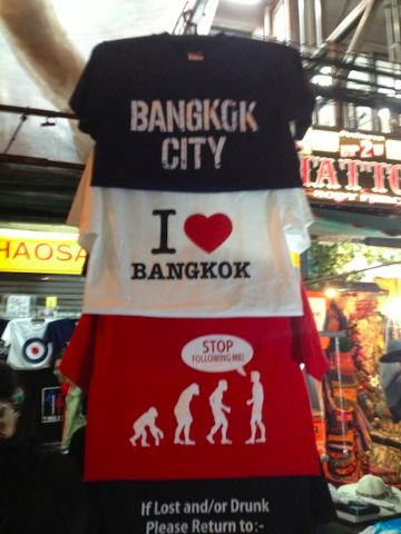 bangkok shirts1 The Khao San Road Street Tout