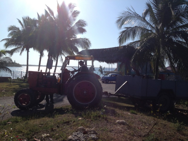 cuba tractor 640x480 Diving at the Bay of Pigs: Where's the US Landing Craft Yo?!
