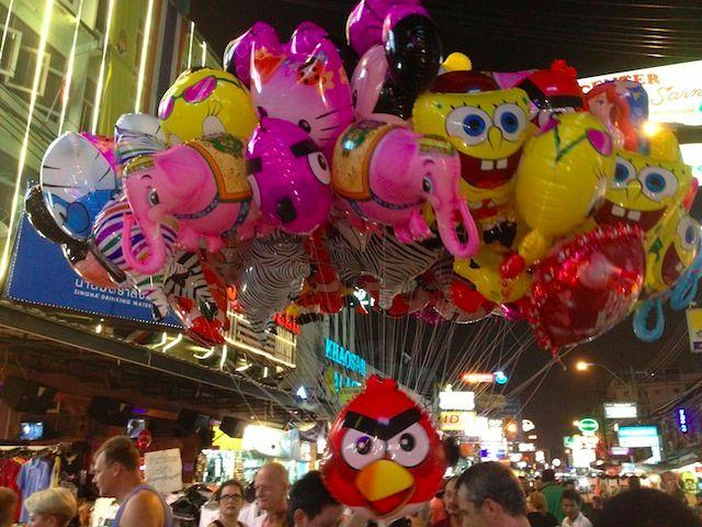 angry bird ballloons