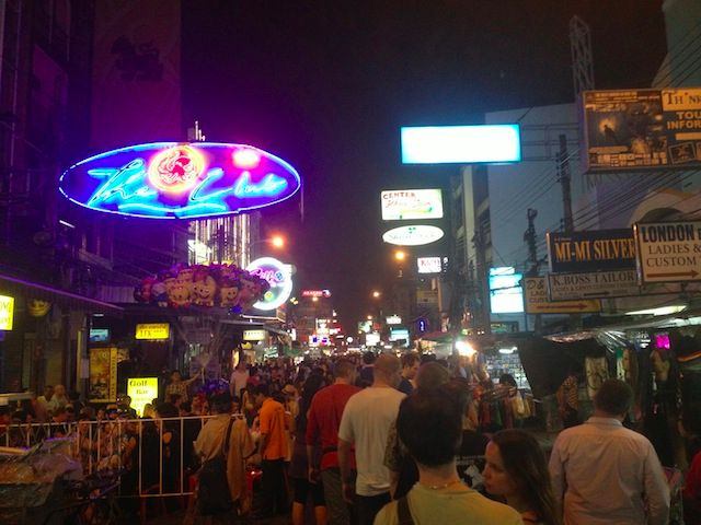 khao san road The Khao San Road Street Tout