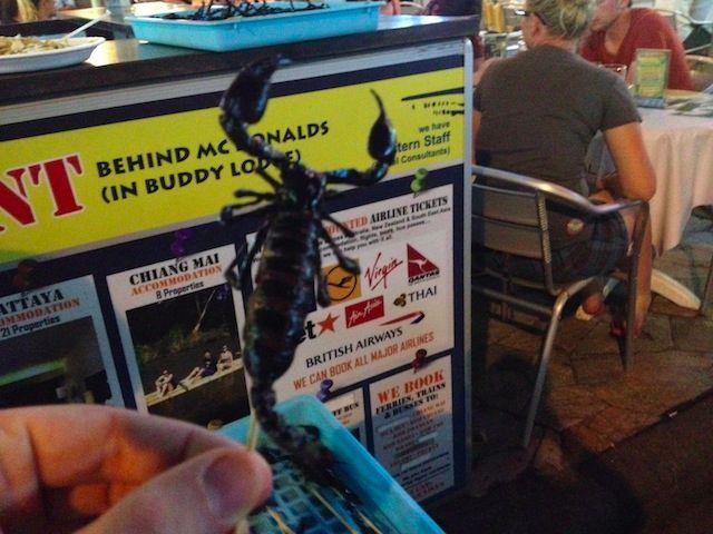 scorpion stick