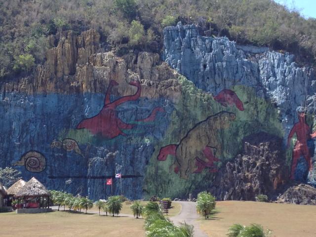 mural in Vinales