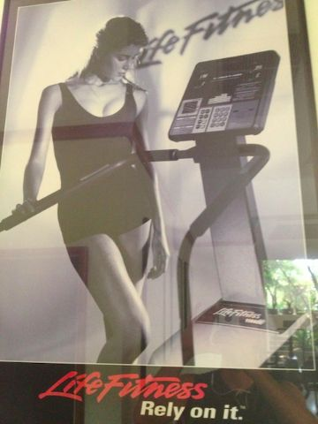 funny workout poster