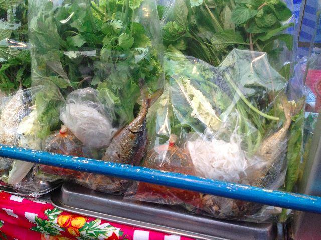 fresh thai food