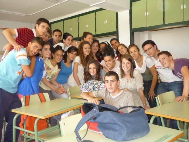 English class in Spain