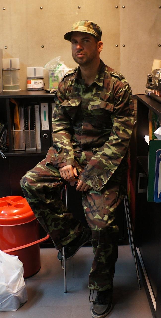 american soldier actor